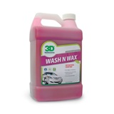 Wash N Wax Car Soap 1 Gal. $9.99,  about 25% less than our competition