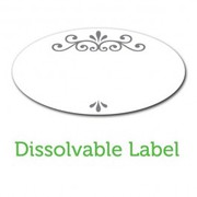 Ball Jar Dissolvable Labels - Pack of 60