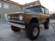 ford bronco Ford Bronco 4X4