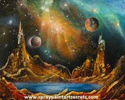 Spray Paint Art Secrets: The Best Place For Spray Painting Lessons