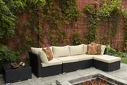 Outdoor/Indoor Wicker Sectional Set on Sale at Gooddegg online store