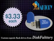 Cheap custom USB flash drives by DiskFaktory