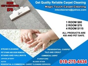 get quality reliable carpet cleaning