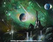 Learn spray paint art from Alisa Amor