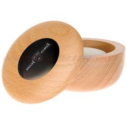 Edwin Jagger Beech Wood Shaving Soap Bowl,  Imitation Ebony Insert