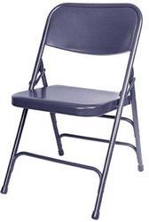 Blue Metal Folding Chair at California Chiavari Chairs
