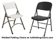 Molded Folding Chairs at 1stfoldingchairs.com