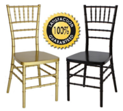 1st folding chairs Larry Presents Chiavari Resin Chairs