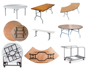 Plastic Resin Folding Tables at Larry Hoffman