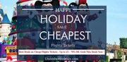 Happy Holiday Sale On Cheapest Flight Tickets