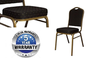 Black Diamond Fabric Banquet Chair at Larry Hoffman