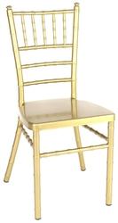 Gold Aluminum Chiavari Chair - Free Cushion