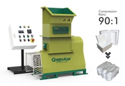 Styrofoam recycling machine with GREENMAX  Mars C50