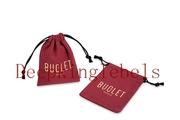 custom drawstring pouch, satin jewelry pouch