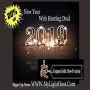 New Year 2019 - Web Hosting offer