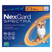 Buy Nexgard Spectra for Dogs | Nexgard chewables for dog